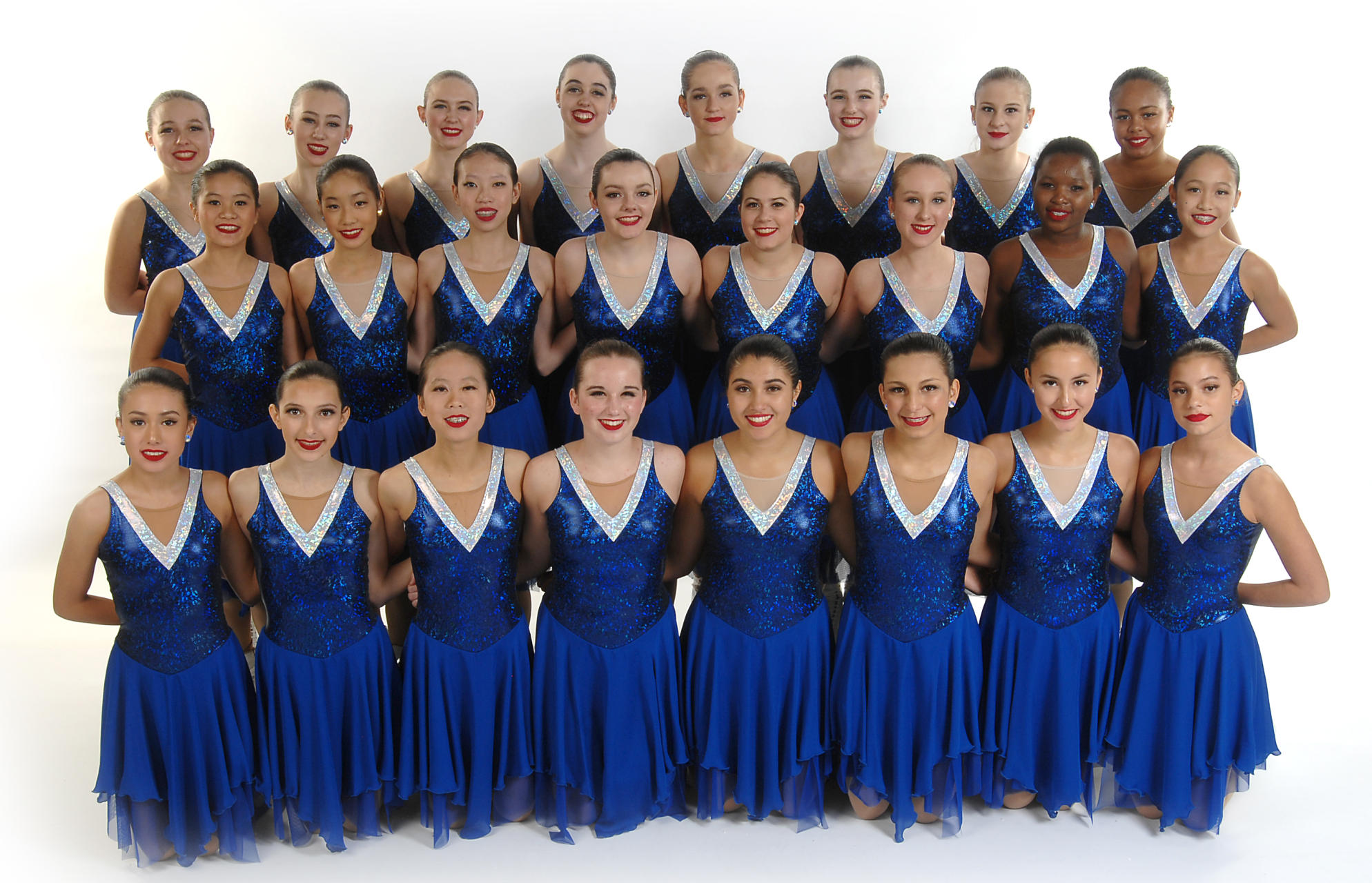The 2018-19 Skyliners Intermediate line is the 2018 Richard Porter Synchro Classic champion, 2018 Boston Synchro Classic bronze medalist, and 2019 Colonial Classic pewter medalist. The line won Nationals in 2016 and 2017.
